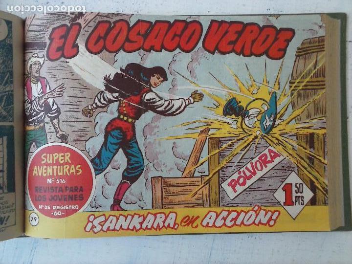 Tebeos: EL COSACO VERDE COMPLETA ORIGINAL 1 A 144 - EN MAGNÍFICO ESTADO, VER NUMEROSAS IMÁGENES, DE LUJO - Foto 274 - 125098099