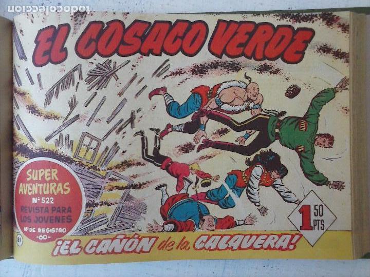 Tebeos: EL COSACO VERDE COMPLETA ORIGINAL 1 A 144 - EN MAGNÍFICO ESTADO, VER NUMEROSAS IMÁGENES, DE LUJO - Foto 281 - 125098099