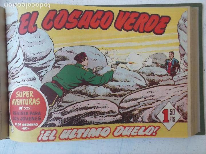 Tebeos: EL COSACO VERDE COMPLETA ORIGINAL 1 A 144 - EN MAGNÍFICO ESTADO, VER NUMEROSAS IMÁGENES, DE LUJO - Foto 282 - 125098099