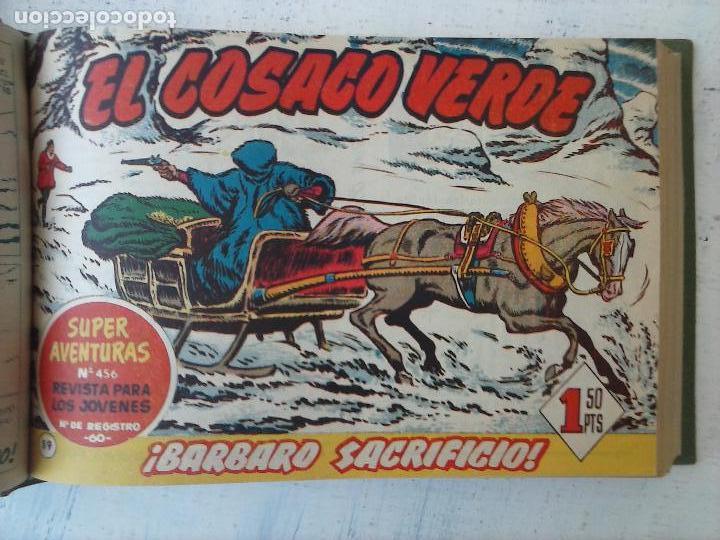 Tebeos: EL COSACO VERDE COMPLETA ORIGINAL 1 A 144 - EN MAGNÍFICO ESTADO, VER NUMEROSAS IMÁGENES, DE LUJO - Foto 286 - 125098099