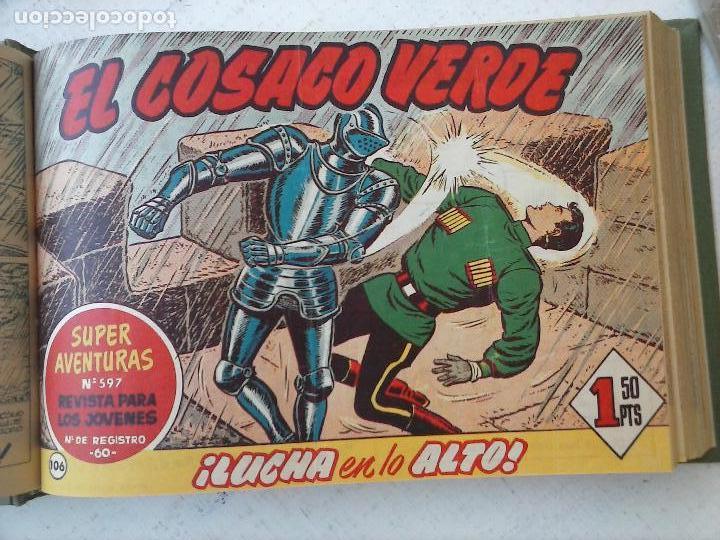 Tebeos: EL COSACO VERDE COMPLETA ORIGINAL 1 A 144 - EN MAGNÍFICO ESTADO, VER NUMEROSAS IMÁGENES, DE LUJO - Foto 290 - 125098099