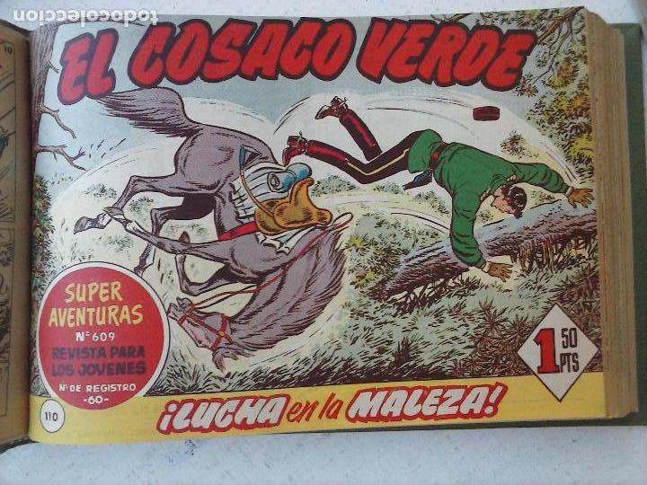 Tebeos: EL COSACO VERDE COMPLETA ORIGINAL 1 A 144 - EN MAGNÍFICO ESTADO, VER NUMEROSAS IMÁGENES, DE LUJO - Foto 292 - 125098099