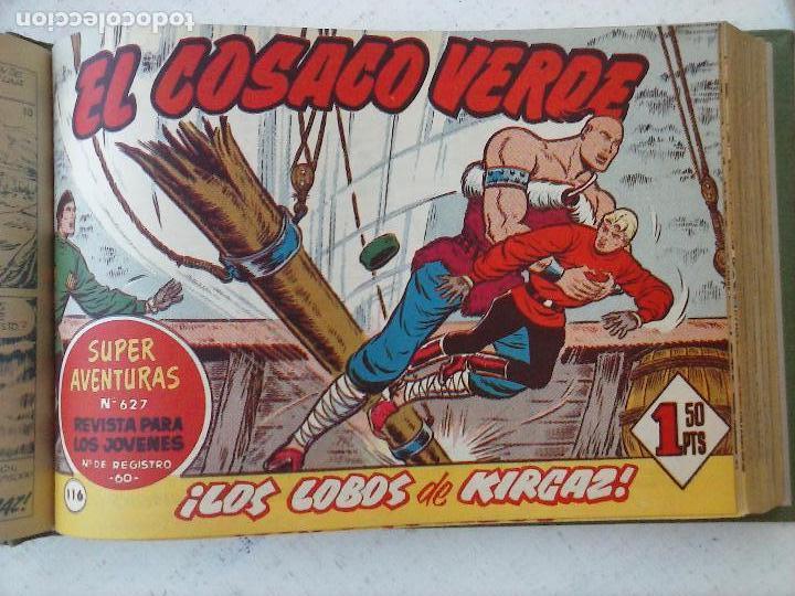 Tebeos: EL COSACO VERDE COMPLETA ORIGINAL 1 A 144 - EN MAGNÍFICO ESTADO, VER NUMEROSAS IMÁGENES, DE LUJO - Foto 298 - 125098099