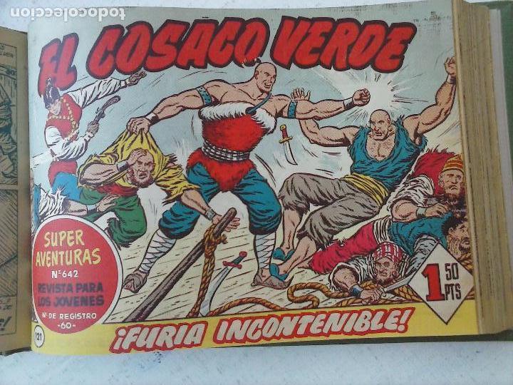 Tebeos: EL COSACO VERDE COMPLETA ORIGINAL 1 A 144 - EN MAGNÍFICO ESTADO, VER NUMEROSAS IMÁGENES, DE LUJO - Foto 301 - 125098099