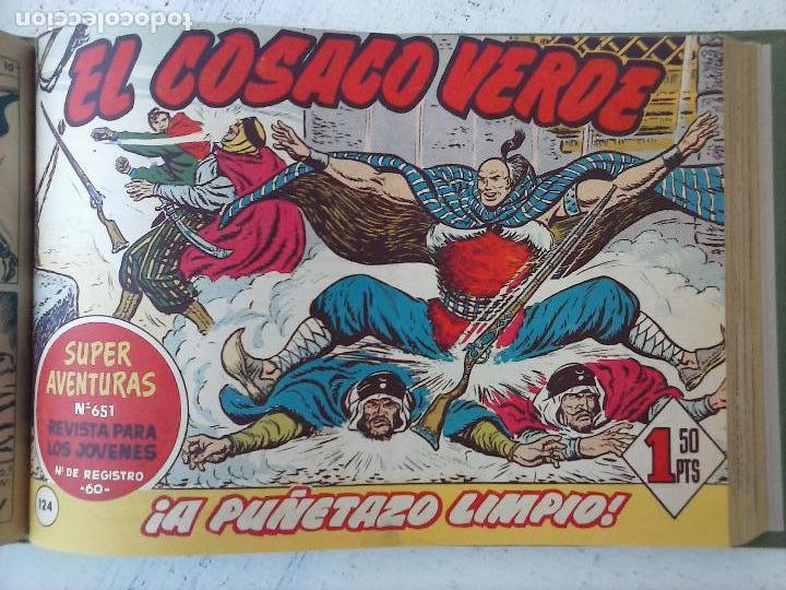 Tebeos: EL COSACO VERDE COMPLETA ORIGINAL 1 A 144 - EN MAGNÍFICO ESTADO, VER NUMEROSAS IMÁGENES, DE LUJO - Foto 305 - 125098099