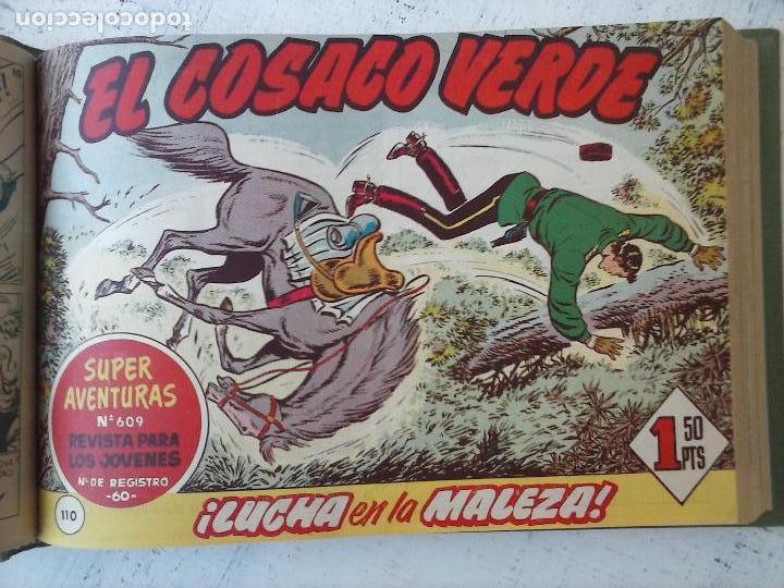 Tebeos: EL COSACO VERDE COMPLETA ORIGINAL 1 A 144 - EN MAGNÍFICO ESTADO, VER NUMEROSAS IMÁGENES, DE LUJO - Foto 306 - 125098099