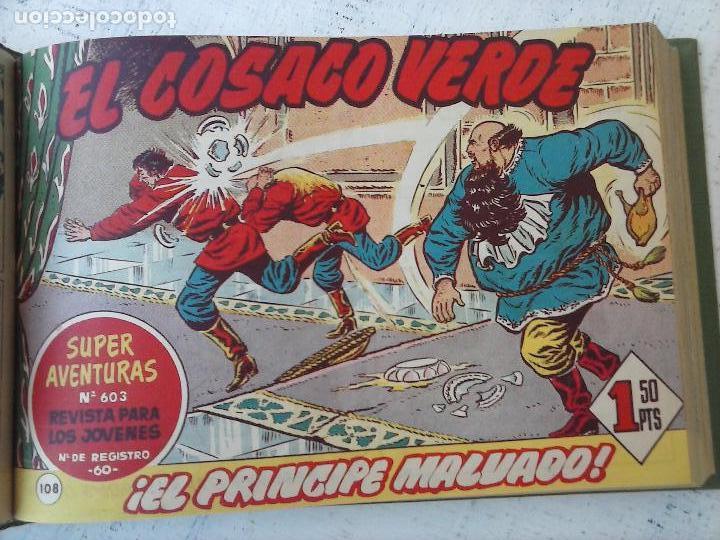 Tebeos: EL COSACO VERDE COMPLETA ORIGINAL 1 A 144 - EN MAGNÍFICO ESTADO, VER NUMEROSAS IMÁGENES, DE LUJO - Foto 312 - 125098099