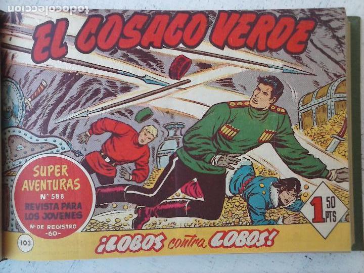 Tebeos: EL COSACO VERDE COMPLETA ORIGINAL 1 A 144 - EN MAGNÍFICO ESTADO, VER NUMEROSAS IMÁGENES, DE LUJO - Foto 322 - 125098099