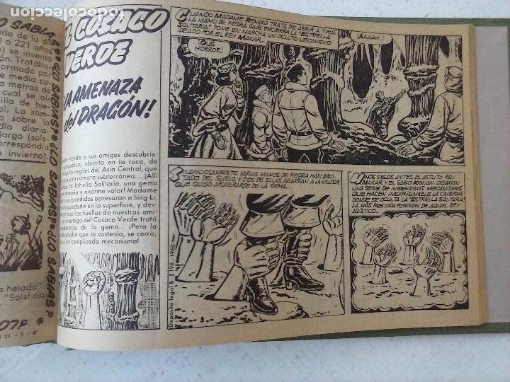 Tebeos: EL COSACO VERDE COMPLETA ORIGINAL 1 A 144 - EN MAGNÍFICO ESTADO, VER NUMEROSAS IMÁGENES, DE LUJO - Foto 328 - 125098099
