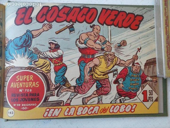 Tebeos: EL COSACO VERDE COMPLETA ORIGINAL 1 A 144 - EN MAGNÍFICO ESTADO, VER NUMEROSAS IMÁGENES, DE LUJO - Foto 331 - 125098099