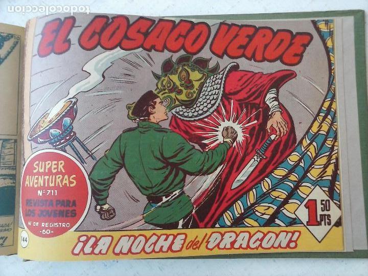 Tebeos: EL COSACO VERDE COMPLETA ORIGINAL 1 A 144 - EN MAGNÍFICO ESTADO, VER NUMEROSAS IMÁGENES, DE LUJO - Foto 333 - 125098099