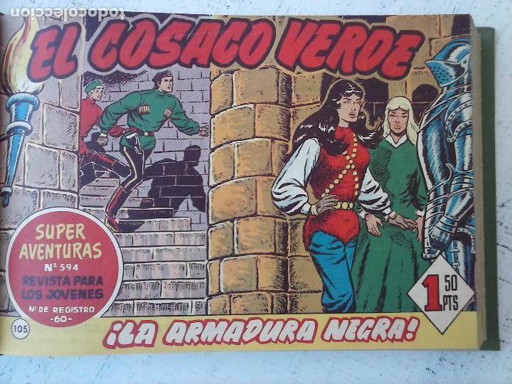 Tebeos: EL COSACO VERDE COMPLETA ORIGINAL 1 A 144 - EN MAGNÍFICO ESTADO, VER NUMEROSAS IMÁGENES, DE LUJO - Foto 337 - 125098099