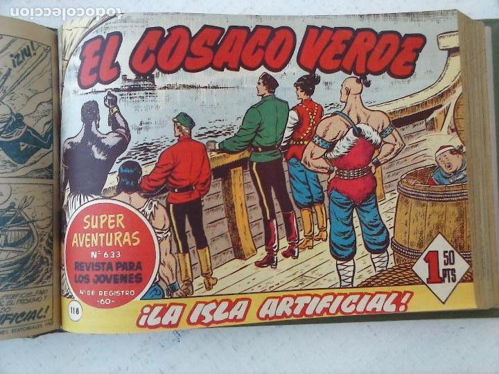 Tebeos: EL COSACO VERDE COMPLETA ORIGINAL 1 A 144 - EN MAGNÍFICO ESTADO, VER NUMEROSAS IMÁGENES, DE LUJO - Foto 340 - 125098099