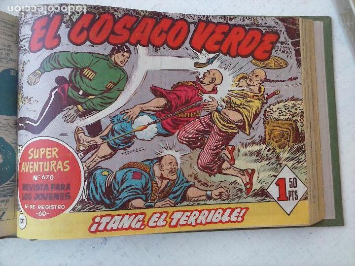 Tebeos: EL COSACO VERDE COMPLETA ORIGINAL 1 A 144 - EN MAGNÍFICO ESTADO, VER NUMEROSAS IMÁGENES, DE LUJO - Foto 341 - 125098099