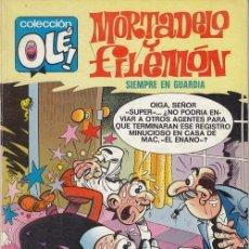 Giornalini: MORTADELO Y FILEMON - OLE Nº 117 - SIEMPRE EN GUARDIA - 1ª EDICION NUMERADO EN EL LOMO. Lote 125127831