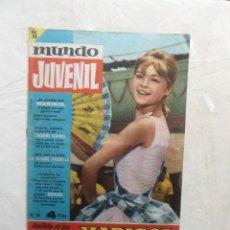 Tebeos: MUNDO JUVENIL REVISTA DE LOS AMIGOS DE MARISOL. Lote 125136663