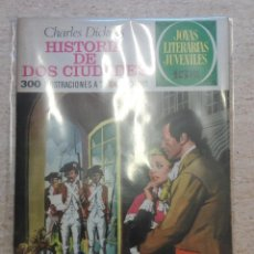 Tebeos: JOYAS LITERARIAS JUVENILES NÚM. 3 - HISTORIA DE DOS CIUDADES - PRIMERA EDICIÓN. Lote 125147387