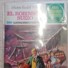 Tebeos: JOYAS LITERARIAS JUVENILES NÚM. 23 - EL ROBINSON SUIZO- PRIMERA EDICIÓN.. Lote 125148851