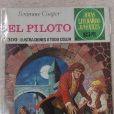 Tebeos: JOYAS LITERARIAS JUVENILES NÚM. 57 - EL PILOTO- PRIMERA EDICIÓN.. Lote 125149351
