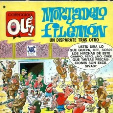 Tebeos: OLE Nº 151 MORTADELO - UN DISPARATE TRAS OTRO - BRUGUERA 1978 1ª EDICION - BIEN CONSERVADO. Lote 125155939