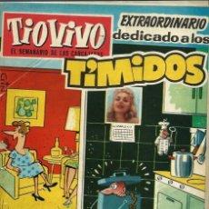 Tebeos: TIO VIVO Nº 99 - EXTRAORDINARIO DEDICADO A LOS TIMIDOS - CRISOL 1959 - 28 PAGINAS - COMPLETO. Lote 125160999