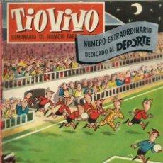 Tebeos: TIO VIVO - EXTRAORDINARIO DEDICADO AL DEPORTE - CRISOL - SEPTIEMBRE 1957 - 28 PAGINAS - COMPLETO. Lote 125161127