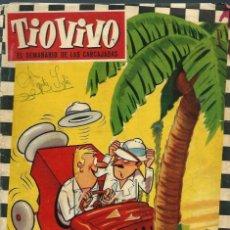 Tebeos: TIO VIVO Nº 138 - CRISOL / BRUGUERA 1960 - ORIGINAL. Lote 125161383