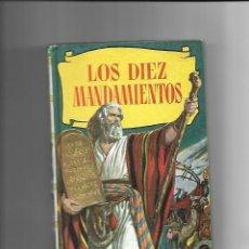 Tebeos: LOS DIEZ MANDAMIENTOS, COLECCIÓN HISTORIAS, JUNIO 1.964. DIBUJANTES TOMAS MARCOS Y LUIS RAMOS.. Lote 125249991
