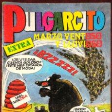 Tebeos: COMIC PULGARCITO EXTRA MARZO VENTOSO Y LLUVIOSO 1983. Lote 125252514