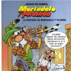 Tebeos: MORTADELO Y FILEMON LA HISTORIA DE MORTADELO Y FILEMON. Lote 125288463