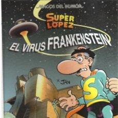 BDs: MORTADELO Y FILEMON EL VIRUS FRANKENSTEIN. Lote 125289699