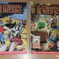 Tebeos: 31 COMICS EL CORSARIO DE HIERRO HISTORICA DEL N° 1 AL 30 + 50. Lote 125290155