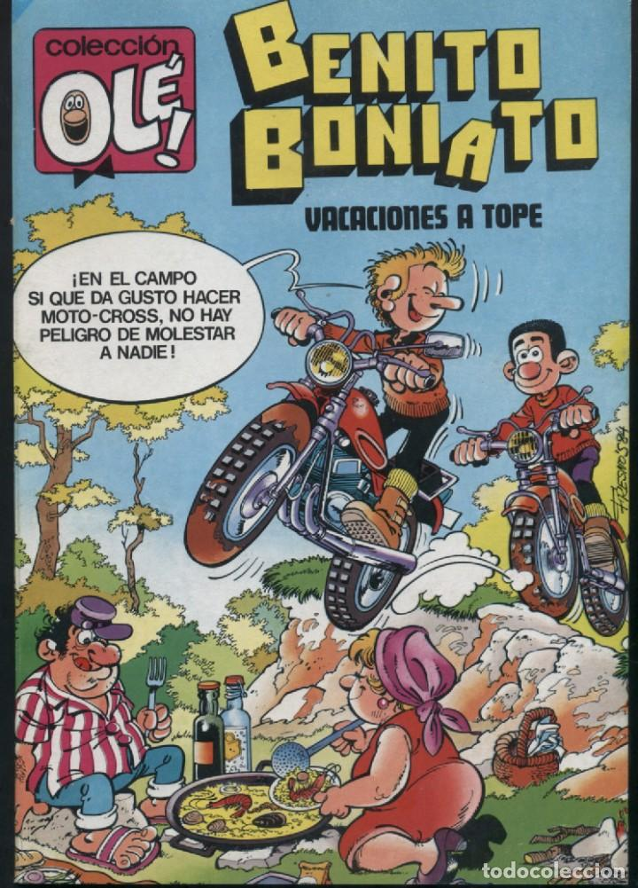 BENITO BONIATO VACACIONES A TOPE - OLE 7 - PRIMERA EDICIÓN 1984 (Tebeos y Comics - Bruguera - Ole)