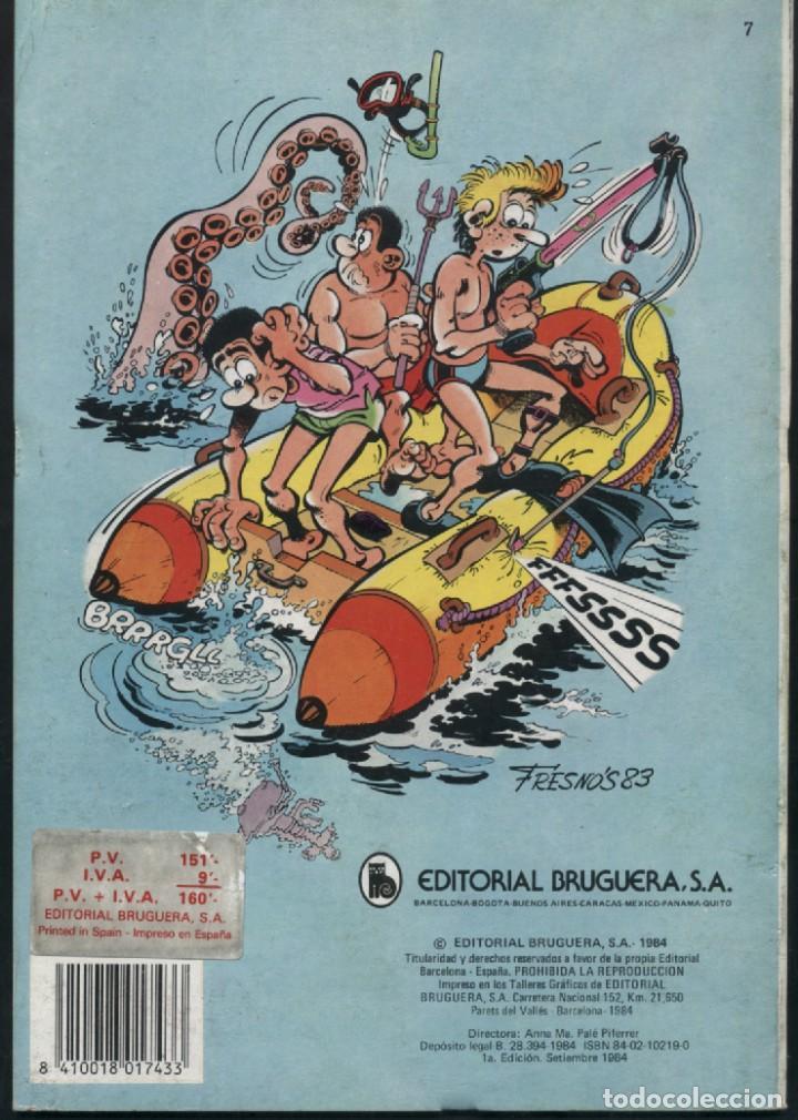 Tebeos: BENITO BONIATO Vacaciones a tope - OLE 7 - Primera edición 1984 - Foto 2 - 125308779