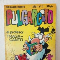 Tebeos: PULGARCITO Nº 17. TOM Y JERRY, LOS PITUFOS, TETE COHETE, FIX Y FOXI.... Lote 125310727