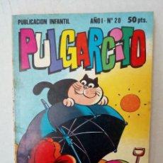 Tebeos: PULGARCITO Nº 20. EL CAPITÁN BARBALOCA, TOM Y JERRY, FIX Y FOXI.... Lote 125312111