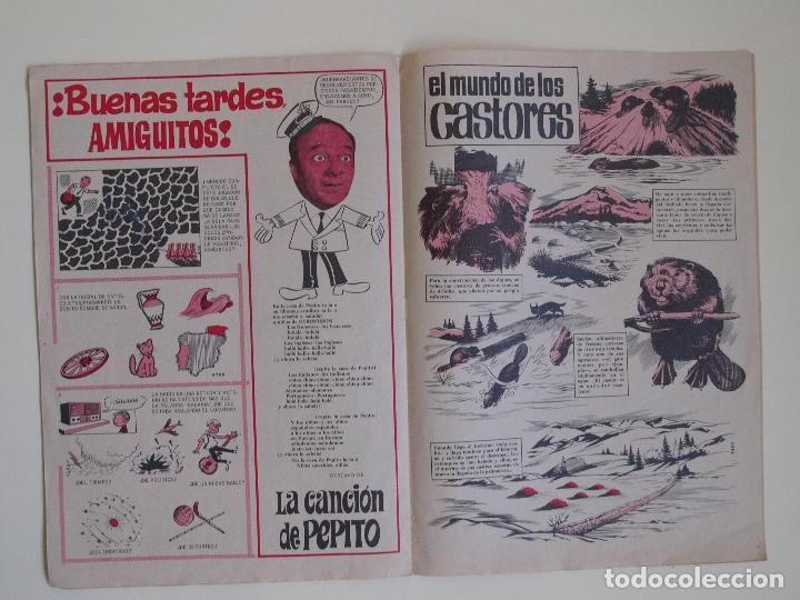 Tebeos: DIN DAN Nº 24 - AÑO I - REVISTA PARA TODOS - PRIMERA EPOCA - EDITORIAL BRUGUERA 1965 - TIN TIN - Foto 5 - 125402723