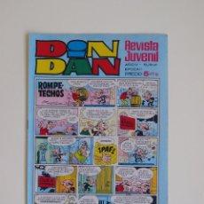 BDs: DIN DAN Nº 89 - AÑO IV - REVISTA JUVENIL - SEGUNDA EPOCA - EDITORIAL BRUGUERA 1969 - BE. Lote 125403259