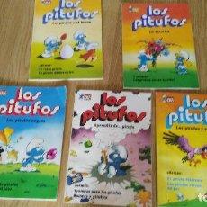 Tebeos: LOS PITUFOS - 5 COMICS - NºS 2-4-5-6-8-. Lote 125403619