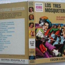 Tebeos: HISTORIAS SELECCIÓN - LOS TRES MOSQUETEROS - ALEJANDRO DUMAS - MIGUEL AMBRÓS ZARAGOZA DIBUJOS. Lote 125968783