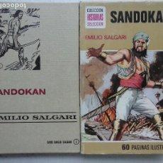 Livros de Banda Desenhada: HISTORIAS SELECCIÓN - SANDOKAN - EMILIO SALGARI - ANGEL PARDO DIBUJOS. Lote 125969735