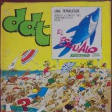 Tebeos: COMIC DDT EXTRA DE VERANO 1976. Lote 126010370