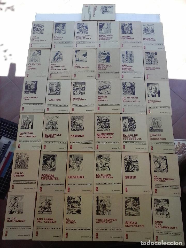 HISTORIAS SELECCIÓN BRUGUERA 37 LIBROS - JULIO VERNE - EMILIO SALGARI - KARL MAY, CARLOS DICKEN ETC (Tebeos y Comics - Bruguera - Historias Selección)