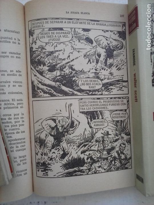 Tebeos: HISTORIAS SELECCIÓN BRUGUERA 37 LIBROS - Julio Verne - Emilio Salgari - Karl May, Carlos Dicken etc - Foto 4 - 126198063