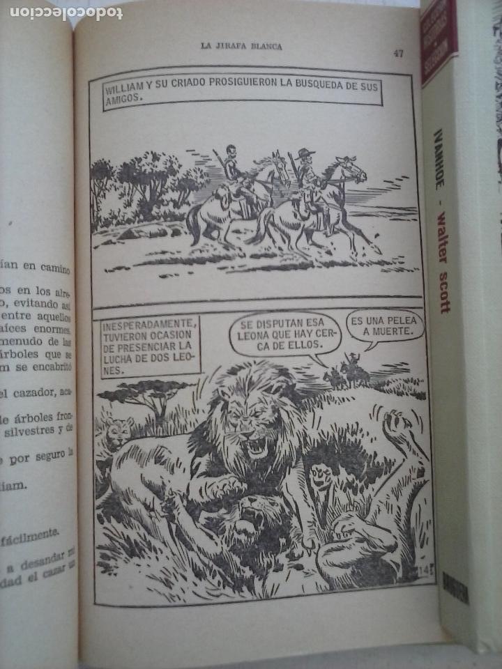 Tebeos: HISTORIAS SELECCIÓN BRUGUERA 37 LIBROS - Julio Verne - Emilio Salgari - Karl May, Carlos Dicken etc - Foto 6 - 126198063