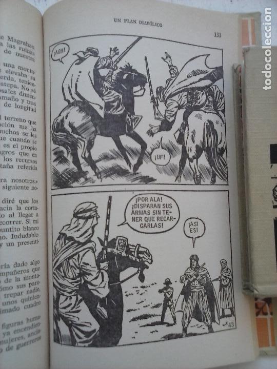 Tebeos: HISTORIAS SELECCIÓN BRUGUERA 37 LIBROS - Julio Verne - Emilio Salgari - Karl May, Carlos Dicken etc - Foto 16 - 126198063