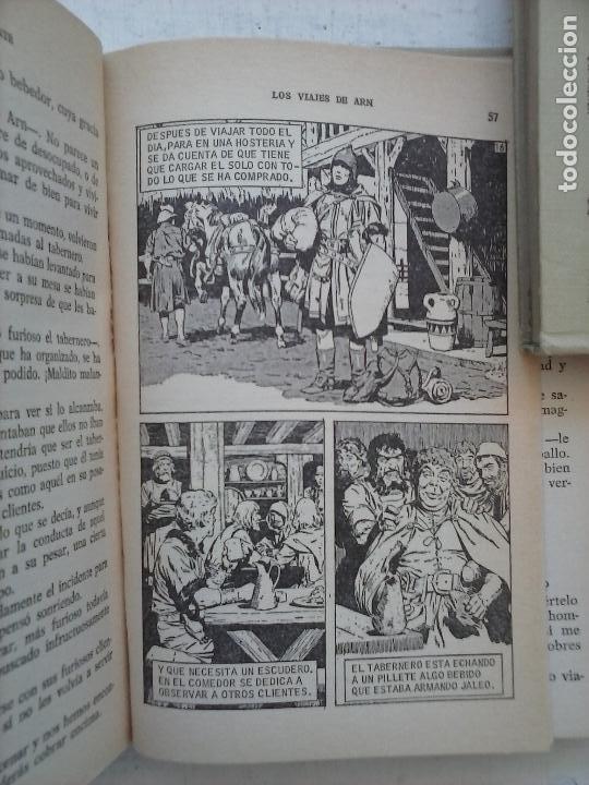 Tebeos: HISTORIAS SELECCIÓN BRUGUERA 37 LIBROS - Julio Verne - Emilio Salgari - Karl May, Carlos Dicken etc - Foto 24 - 126198063
