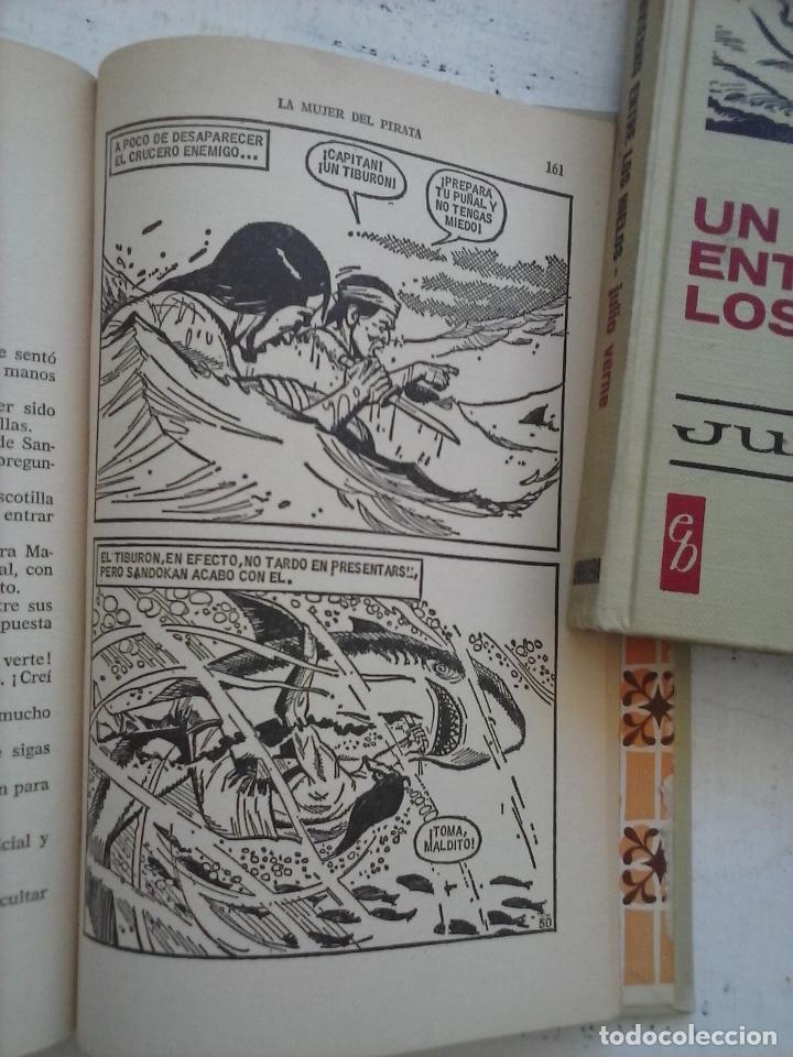 Tebeos: HISTORIAS SELECCIÓN BRUGUERA 37 LIBROS - Julio Verne - Emilio Salgari - Karl May, Carlos Dicken etc - Foto 40 - 126198063