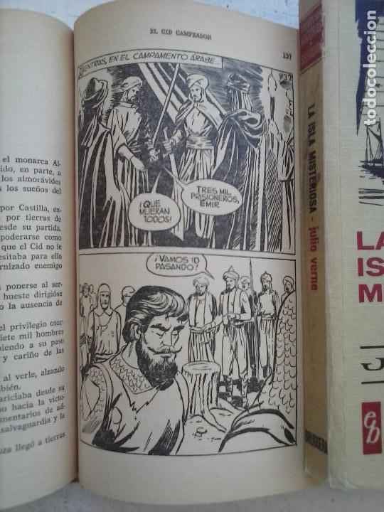 Tebeos: HISTORIAS SELECCIÓN BRUGUERA 37 LIBROS - Julio Verne - Emilio Salgari - Karl May, Carlos Dicken etc - Foto 66 - 126198063