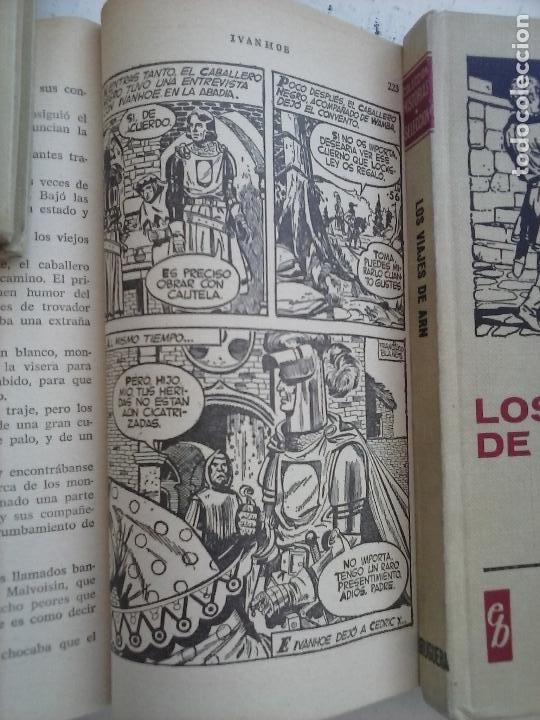 Tebeos: HISTORIAS SELECCIÓN BRUGUERA 37 LIBROS - Julio Verne - Emilio Salgari - Karl May, Carlos Dicken etc - Foto 70 - 126198063